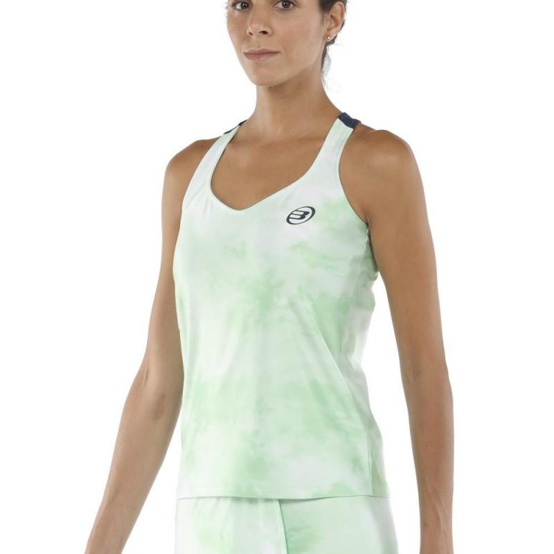 Camiseta Tirantes Bullpadel Egia Verde Acido