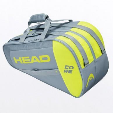 Head Paletero Head Core Padel Combi Grey Yellow 2021