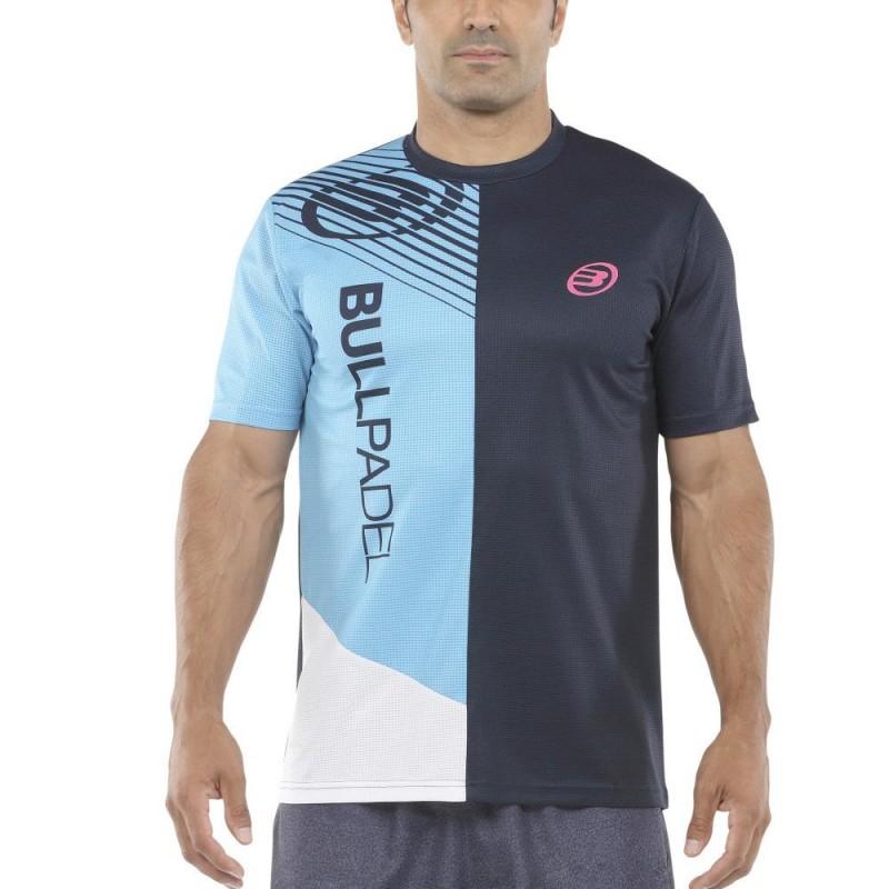 Camiseta Bullpadel Carte Oceano Profundo