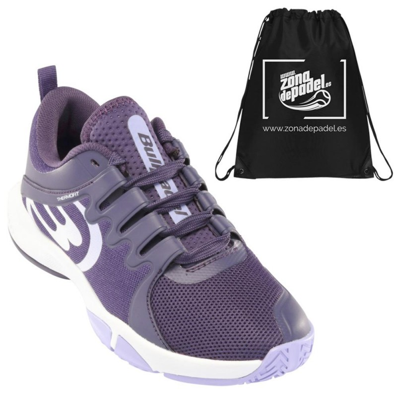 Zapatillas Bullpadel Flow Hybrid Fly 21V Moradas