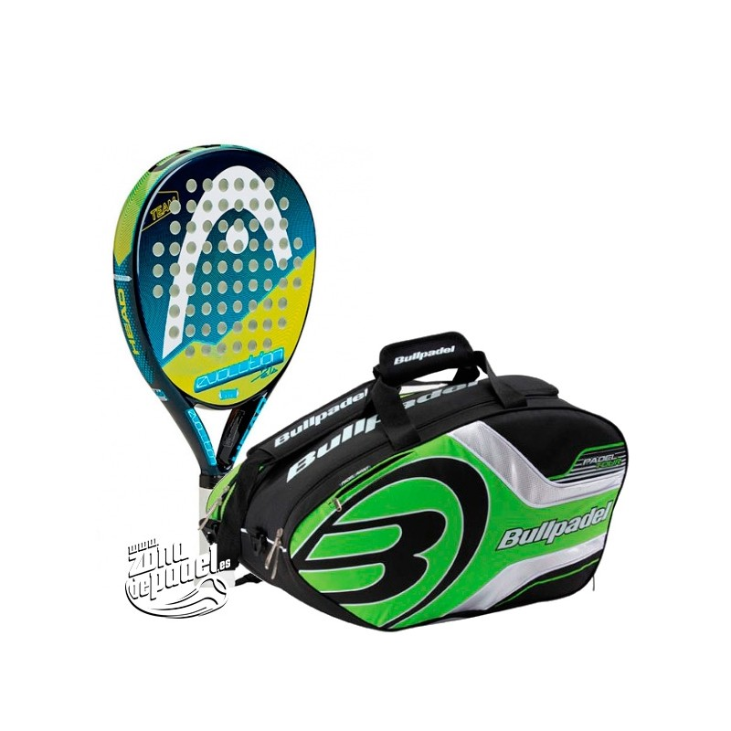 pack de padel comunión Head Bullpadel