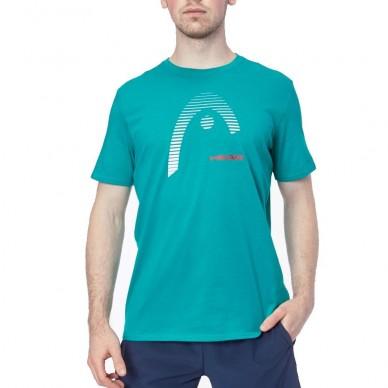 Head Camiseta Head Club Carl Men Turquesa