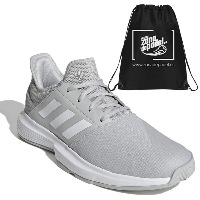 Zapatillas Adidas GameCourt M Grey White 2021