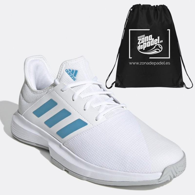 Zapatillas Adidas GameCourt M White Blue 2021
