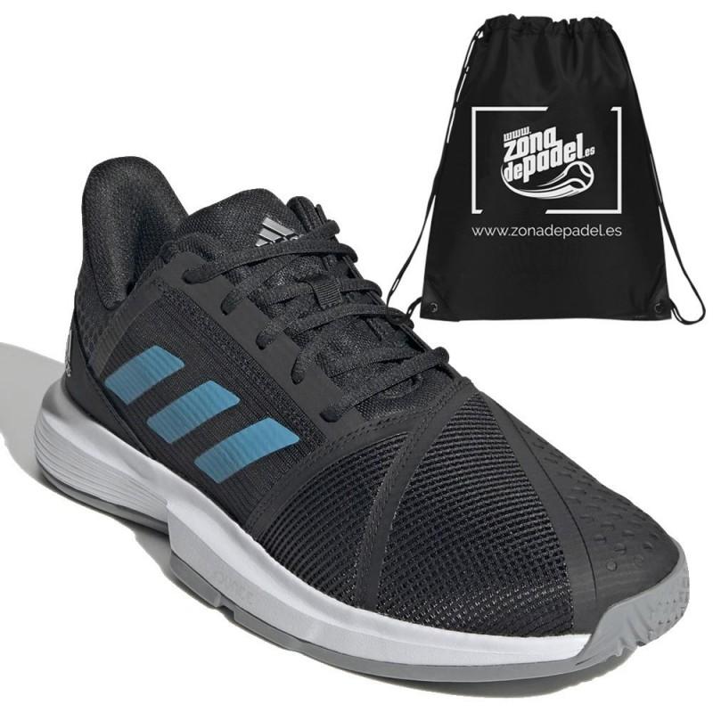Zapatillas Adidas CourtJam Bounce M Black Blue 2021