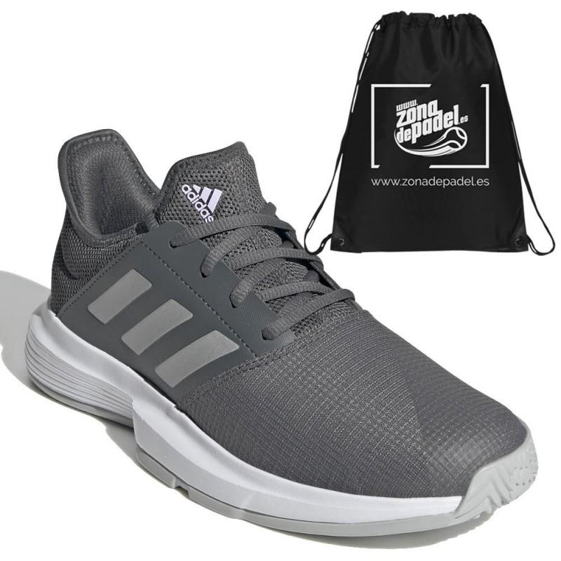 Zapatillas Adidas GameCourt W Gresix Silver 2021