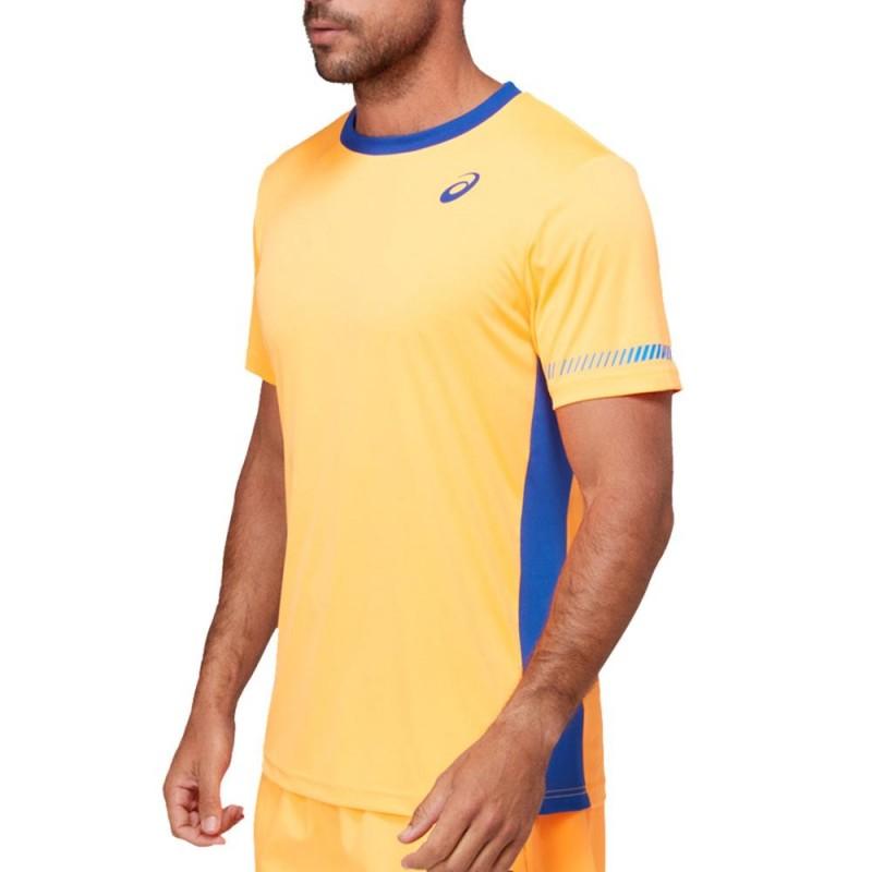 Camiseta Asics M SS TEE Orange Monaco Blue