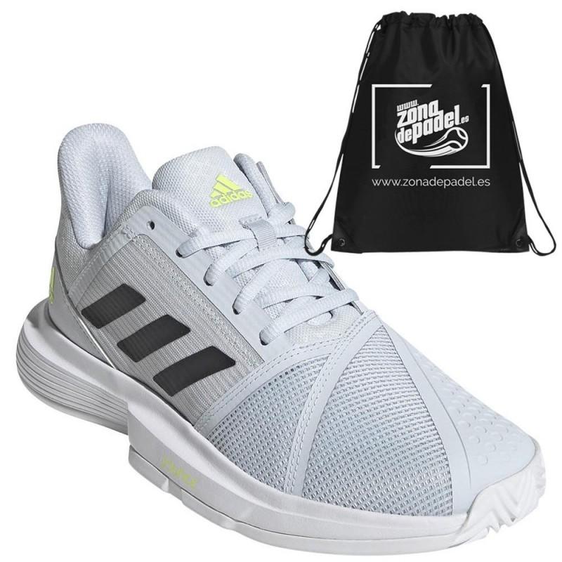 Zapatillas Adidas CourtJam Bounce W Clay White Core Black 2021