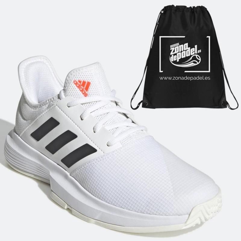 Zapatillas Adidas GameCourt W White Solred 2021