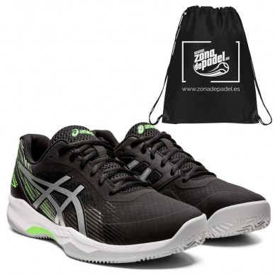 AsicsAsics Gel Game 8 Clay Black Pure Silver