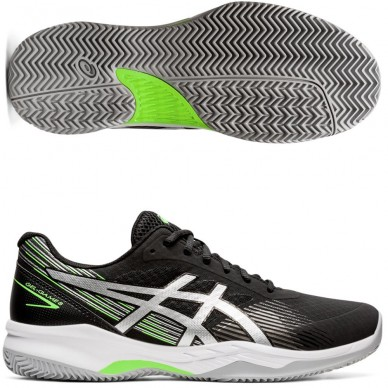 Asics Gel Game 8 Clay 2021 Black pure silver<