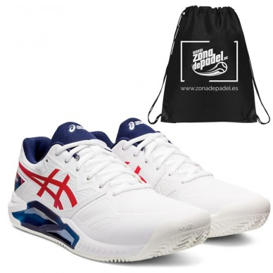 AsicsAsics Gel Challenger 13 Clay LE White Classic Red