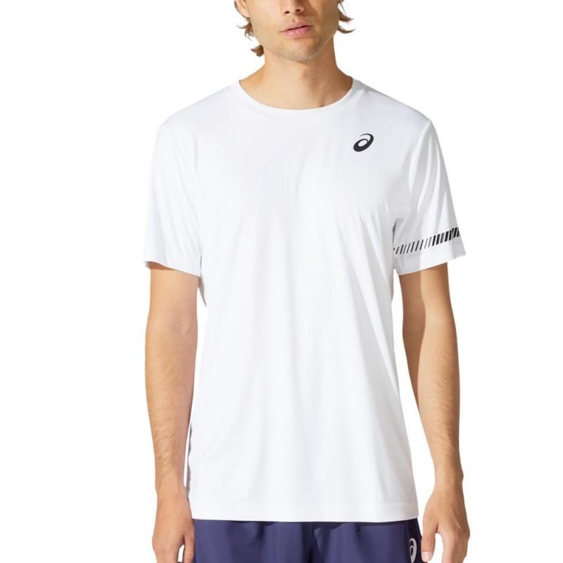 Camiseta Asics Court M SS TEE Brilliant White