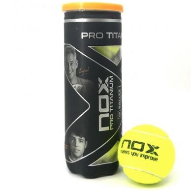 NoxBote Pelotas Nox Pro Titanium