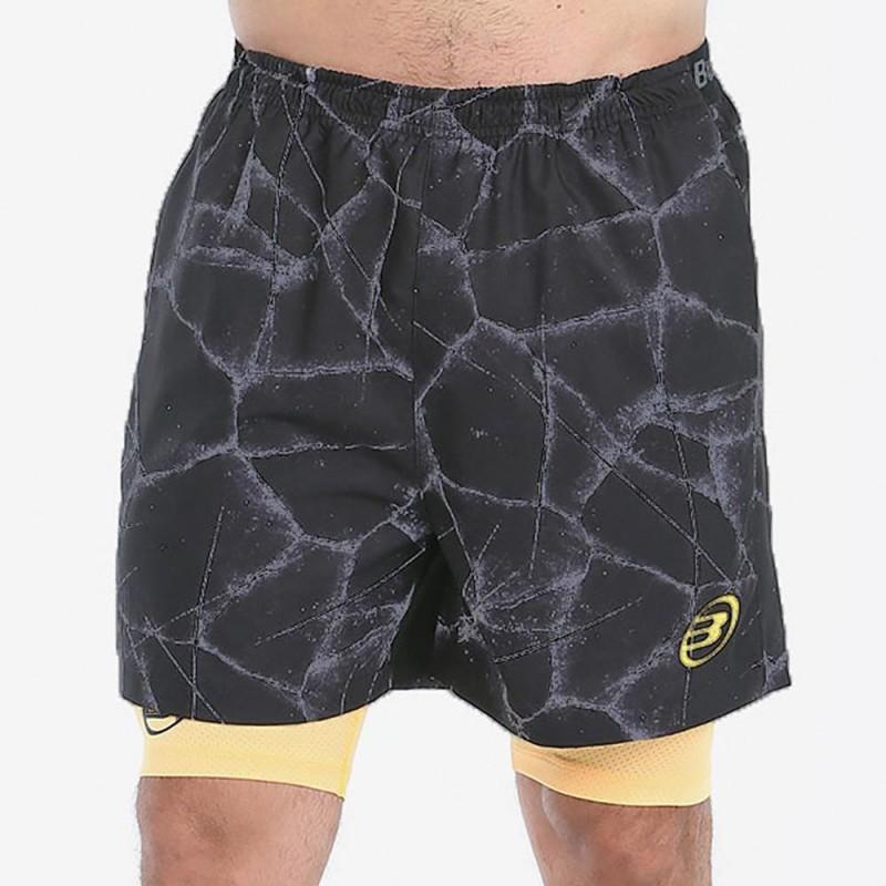Pantalon Bullpadel Macheta Negro