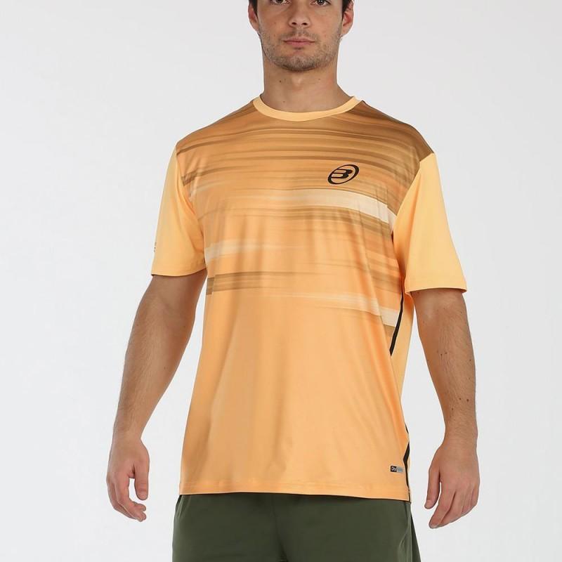 Camiseta Bullpadel Milan Albaricoque