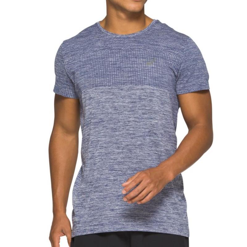 Camiseta Asics Race Seamless SS French Blue