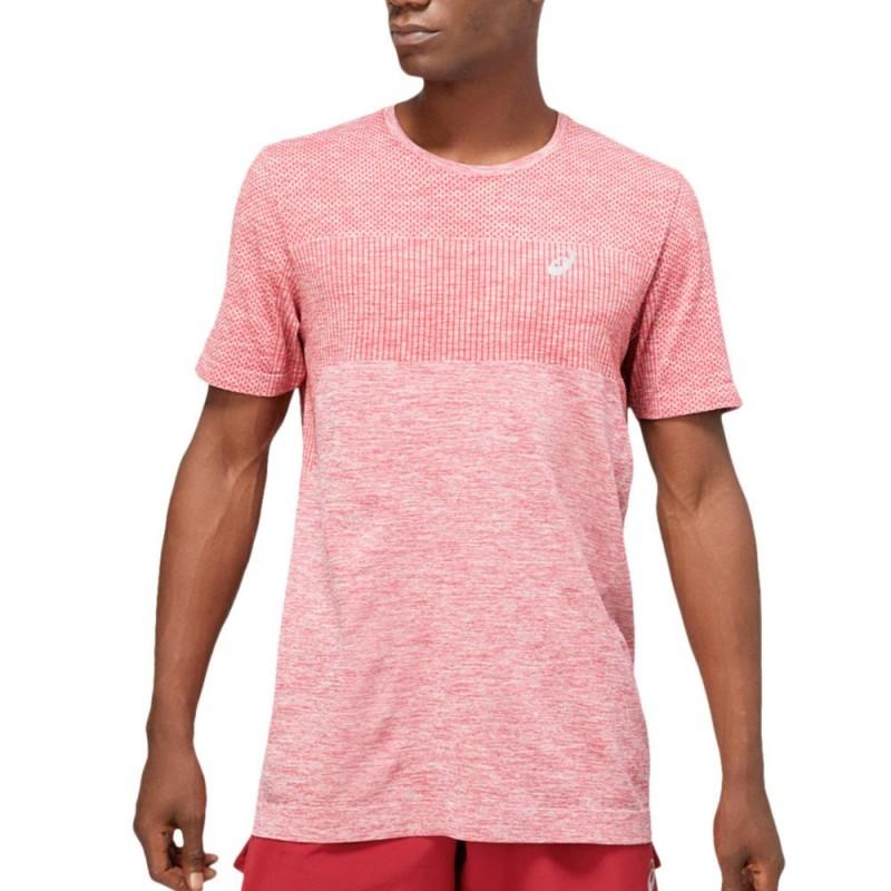 Camiseta Asics Race Seamless SS Burgundy