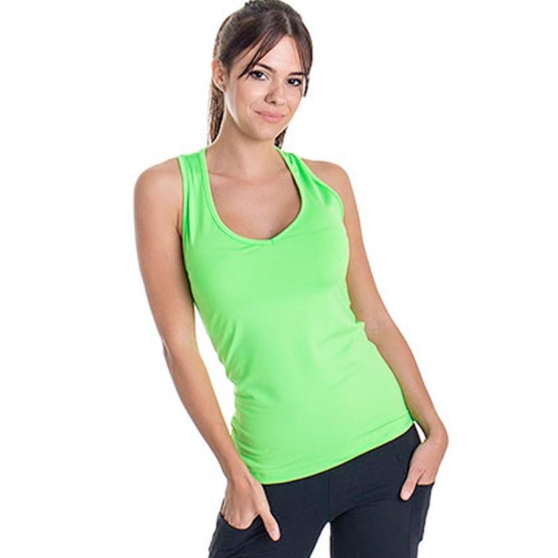 Camiseta tirantes BB Basica Green