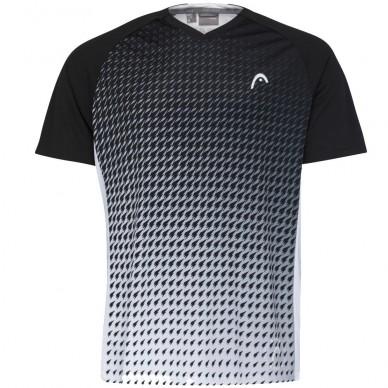 Head Camiseta Head Game Tech White Print Padel