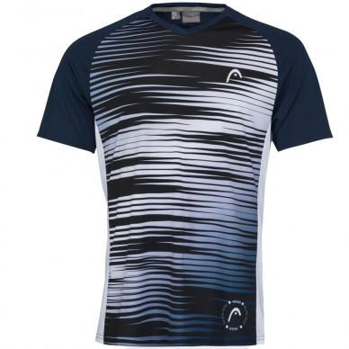 Head Camiseta Head Game Tech Print Padel White