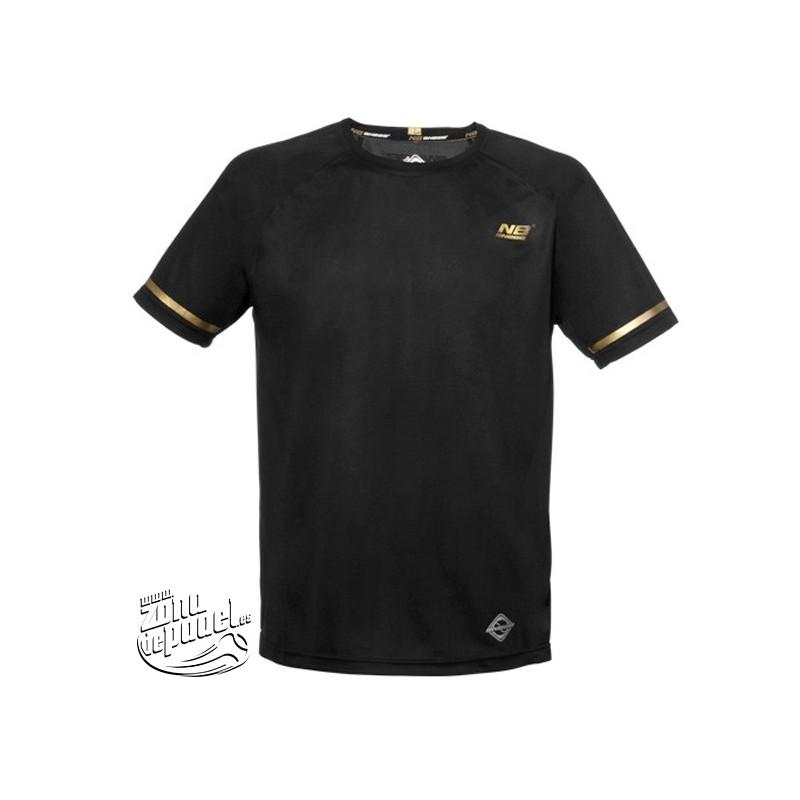 Camiseta de padel Enebe Negra Simaler