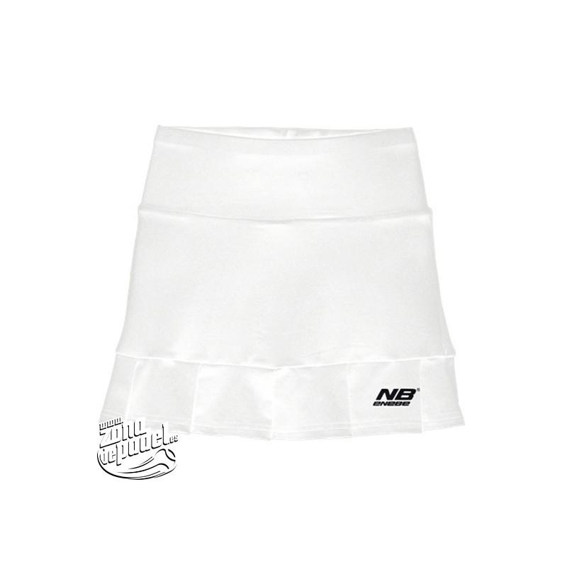 Falda de padel Enebe Senda Blanca