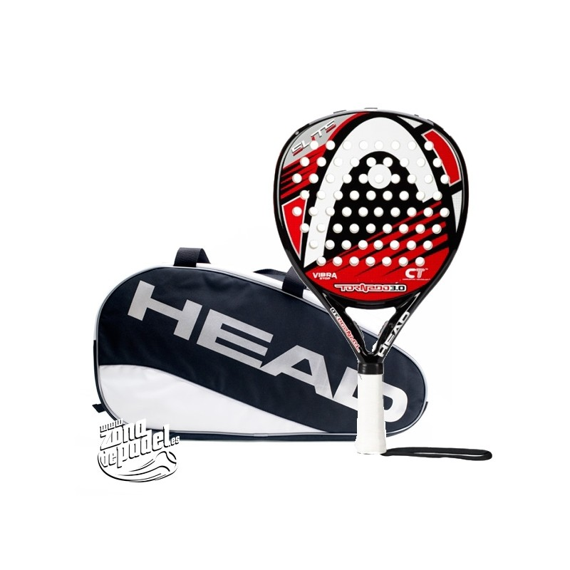 Pack Pala head Tornado Elite 3.0 + Paletero