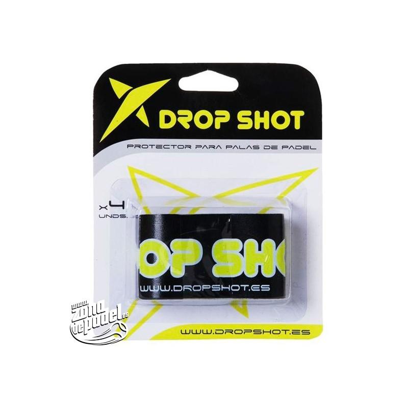Protector pala de padel drop shot negro