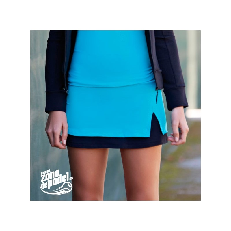 Falda Naffta Azul Otoño 2014