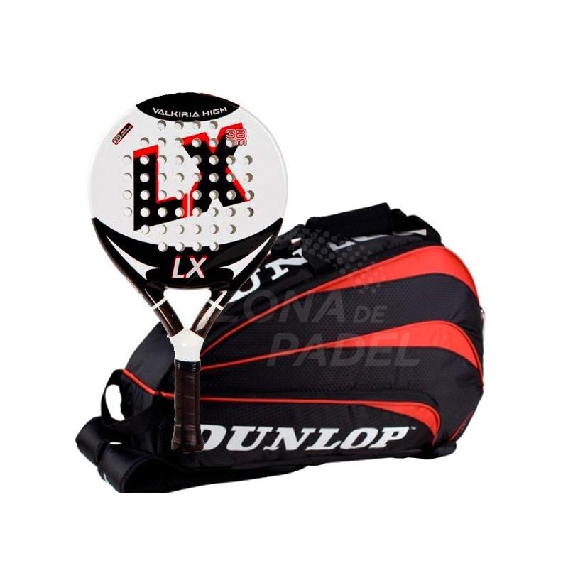 Pack Pala Lx Valkiria + Paletero Dunlop