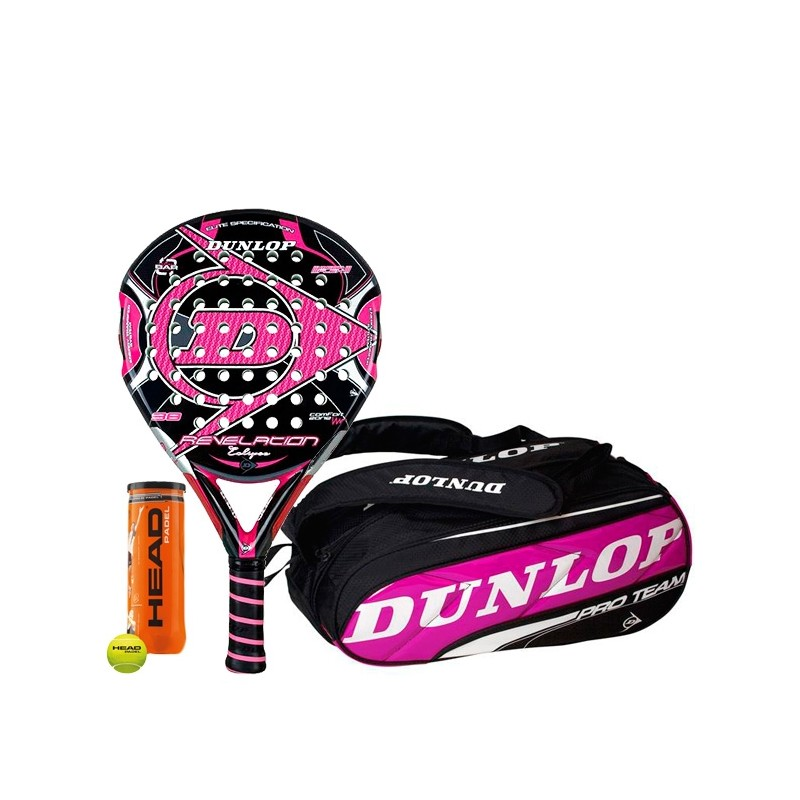 Pack Dunlop Revelation Eclipse + Paletero Pro Team