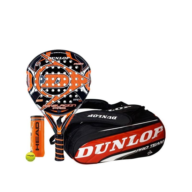 Pack Dunlop Revelation Pro + Paletero Pro Team