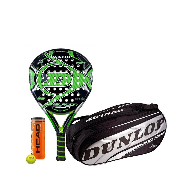Pack Dunlop Revelation Tour + Paletero Pro Team