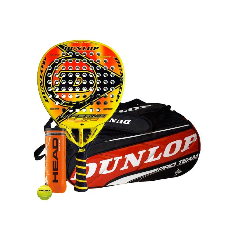 Pack Dunlop Inferno + Paletero Pro Team