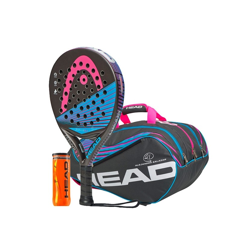 Pack head Zephyr 3.1 n2 + Paletero Supercombi + Bolas