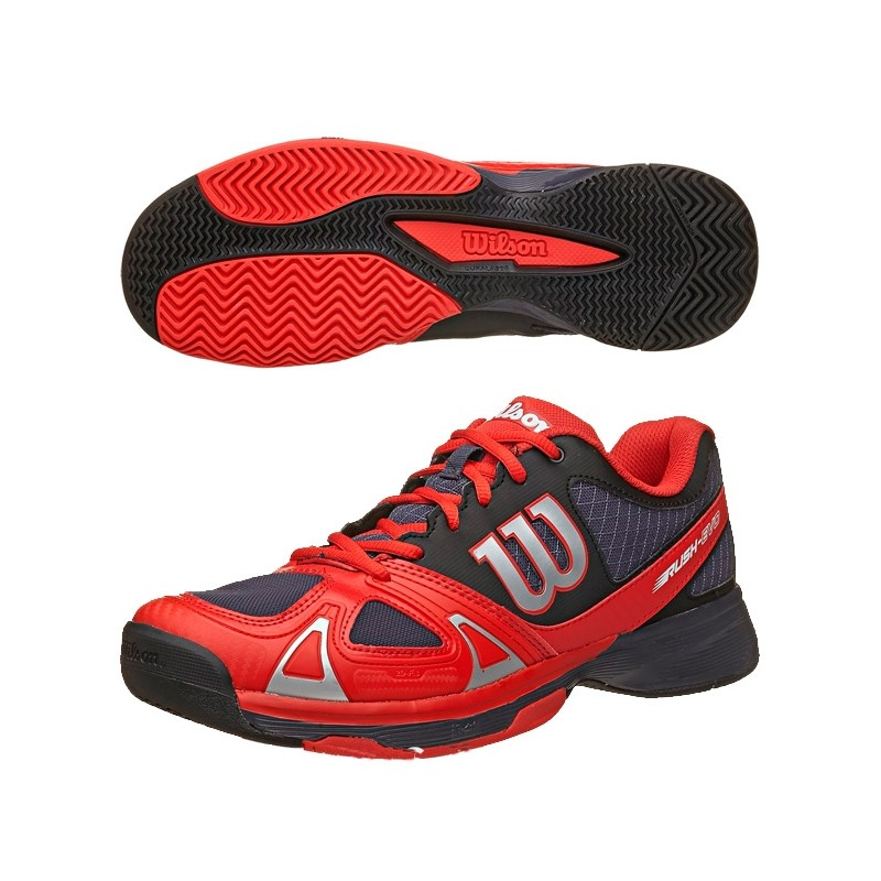 Zapatillas Wilson Rush Evo Coal 2015 rojas