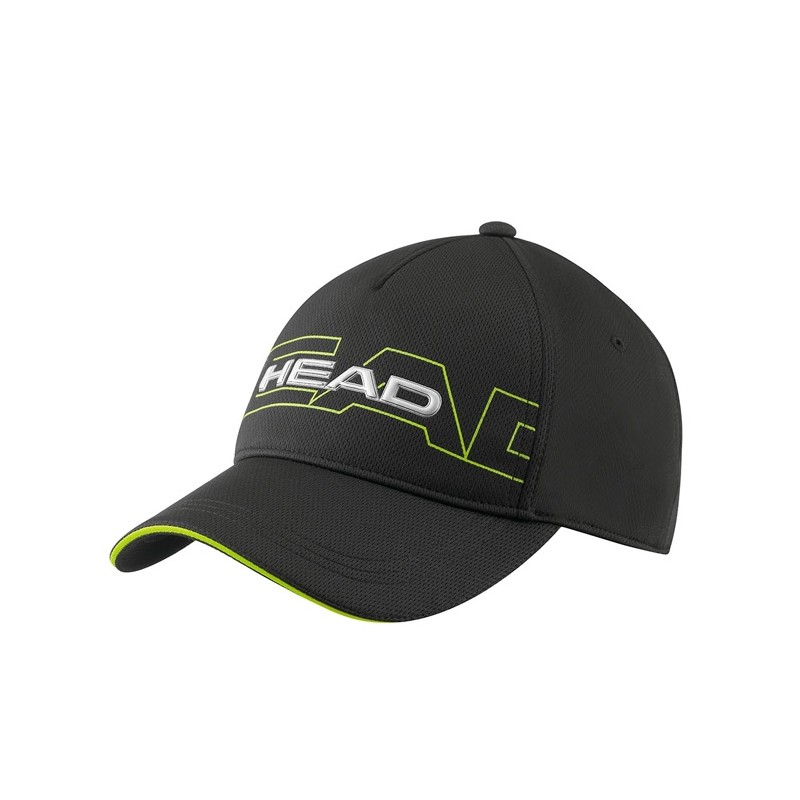 Gorra Head negra Performance Function Cap