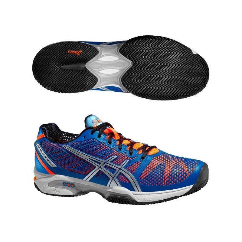 Zapatillas Asics Gel Solution Speed 2 2015 Azules