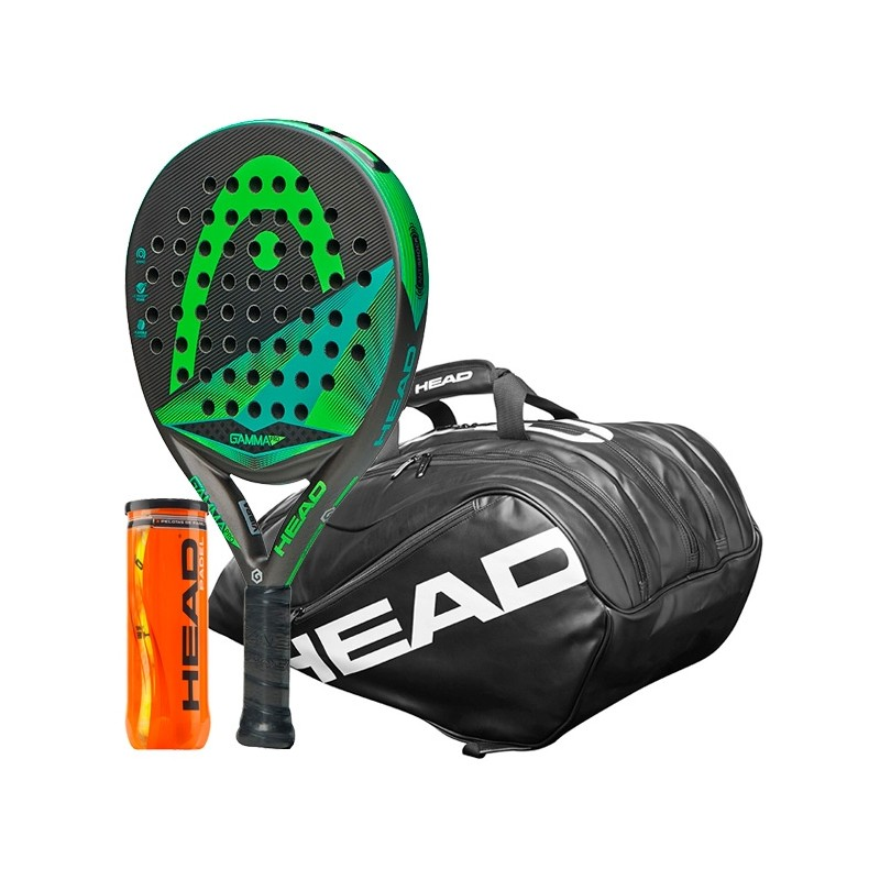 Pack Head Graphene Pro + Paletero Ultimate + Bolas