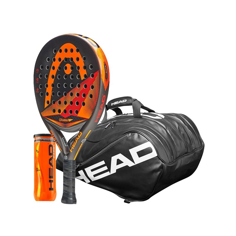 Pack Head Graphene Motion + Paletero Ultimate + Bolas