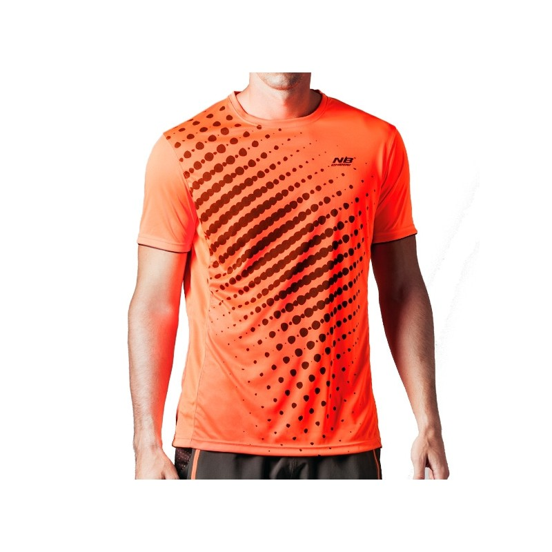 Camisetas nb naranja Zoyor