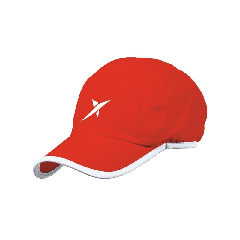Gorra Drop Shot Court Roja