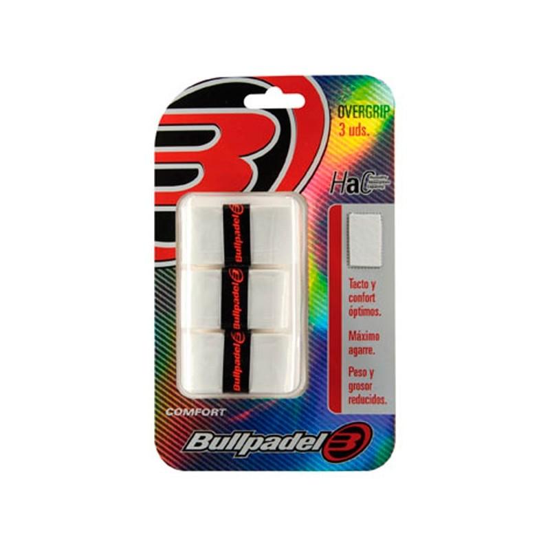 Overgrips Bullpadel GB1200 Blancos