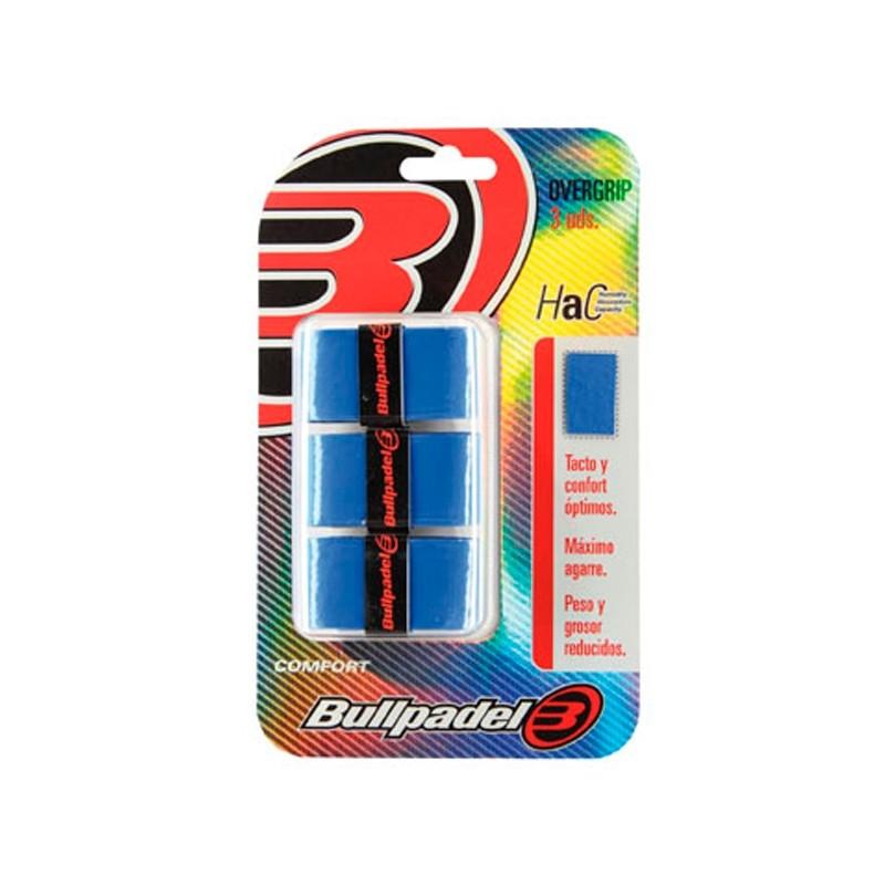 Overgrips bullpadel GB1200 Azules
