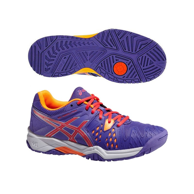 Zapatillas Asics Gel Resolution 6 GS 2015