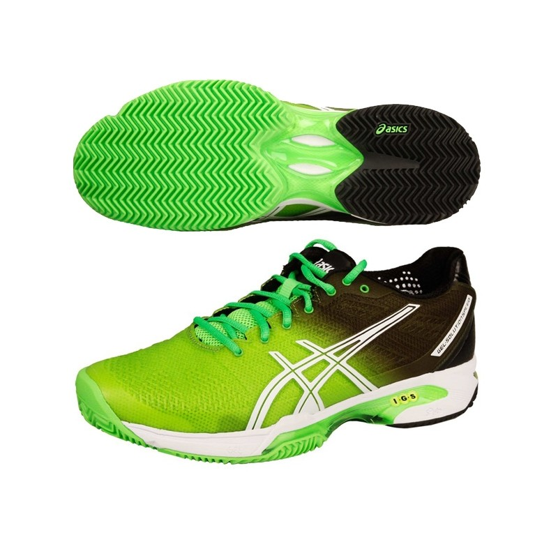 Zapatillas Asics Gel Solution Speed 2 2015 Verdes