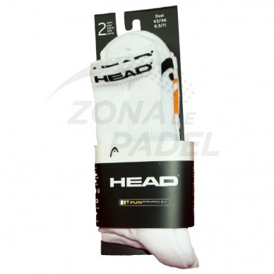 Pack 2 Calcetines Head Blanco