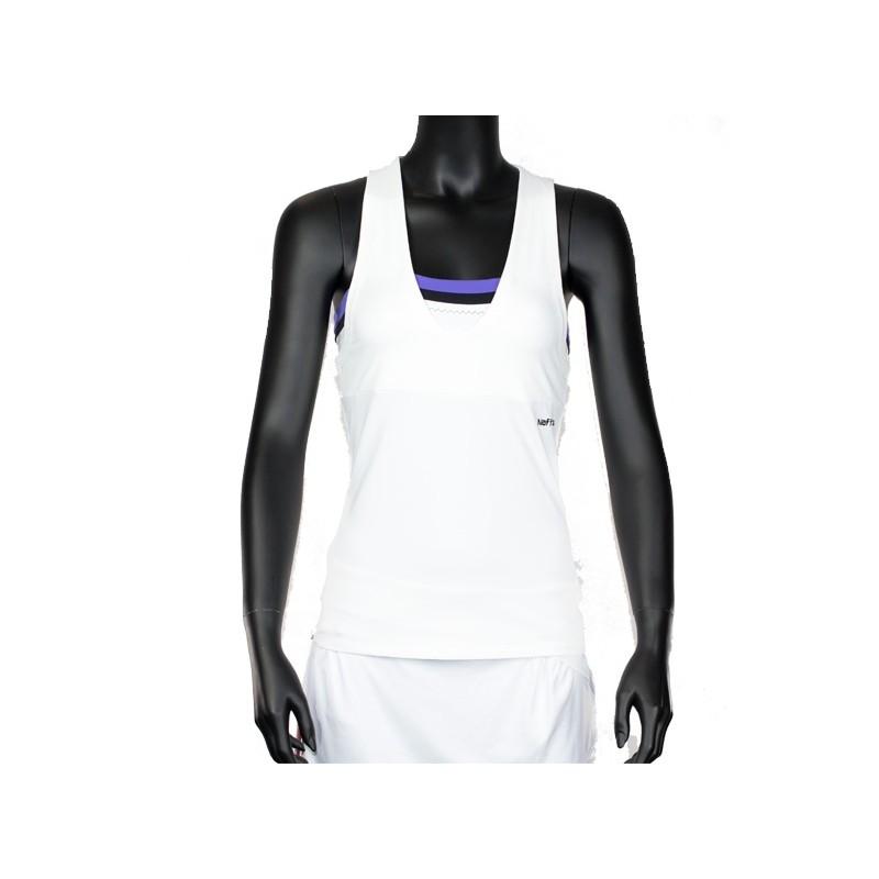 Camiseta naffta Asas CA538 Blanca y morada 2015