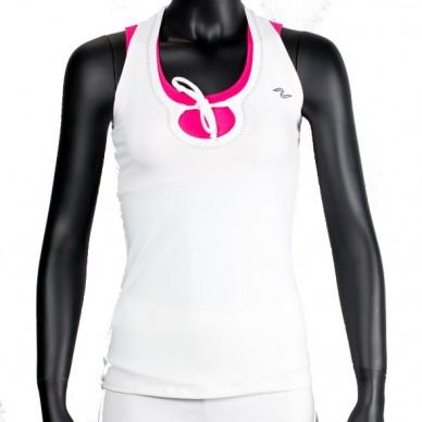 Camisetas Naffta Blanca y fucsia CA533 2015